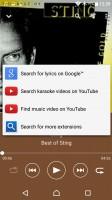 Music app - Sony Xperia XA Ultra review