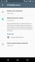 Stamina mode - Sony Xperia XZ review