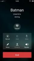 Calling someone - Vivo V3Max  review