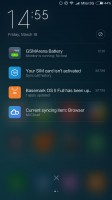 Notifications - Xiaomi Mi 4s review