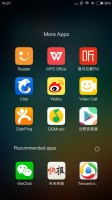 there is no app drawer - Xiaomi Mi 5 review
