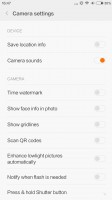 Camera UI - Xiaomi Mi 5 review