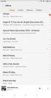 Songs - Xiaomi Mi Mix review