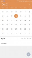 Calendar - Xiaomi Redmi 3S review