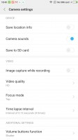 Camcorder UI - Xiaomi Redmi Note 3 Snapdragon Review review