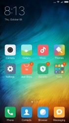 The MIUI homescreens - Xiaomi Redmi Note 4 review