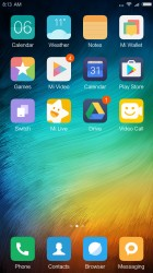 There is no app drawer - Xiaomi Redmi Note 4 review