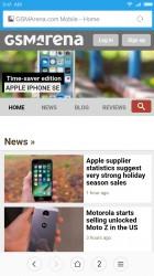 Mi Browser: GSMArena.com - Xiaomi Redmi Note 4 review