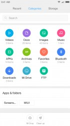 Explorer: Files by type - Xiaomi Redmi Note 4 review