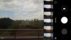 MIUI camera interface: Color effects - Xiaomi Redmi Note 4 review