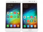 Xiaomi Redmi Pro next to the Redmi Note 4