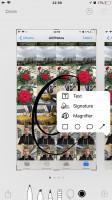 Editing a screenshot - Apple iPhone 8 Plus review