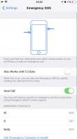 Configuring SOS - Apple iPhone 8 Plus review