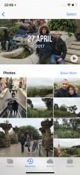 Memories - Apple iPhone X review