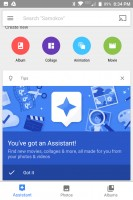 Google Photos: Assistant - Blackberry Keyone review