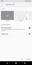 Setting up multilingual keyboard - Google Pixel 2 Xl review