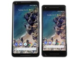 Two sizes of Pixel 2s - Google Pixel 2 review