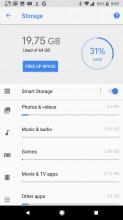 Storage - Google Pixel 2 review