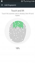 Setting up the fingerprint reader - HTC U Ultra review