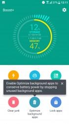 Boost+ app - HTC U Ultra review
