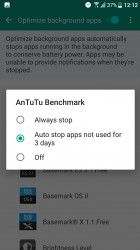 Background apps - HTC U Ultra review