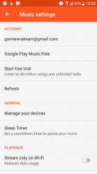 No custom music app either, just Google Play Music - HTC U Ultra review