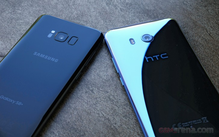 HTC U11 vs. Samsung Galaxy S8+