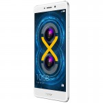 Honor 6X front: silver - Huawei Honor 6x review