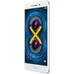 Honor 6X front: gold - Huawei Honor 6x review