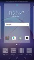 Home screen menu - Huawei Honor 6x review
