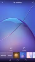 Wallpaper chooser - Huawei Honor 6x review