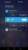 Notification shade - Huawei Honor 6x review