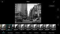Variety of monochrome filters - Huawei Honor 6x review