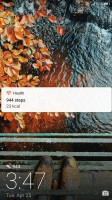 Functional lockscreen - Honor 8 Pro review