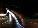 Light Painting - Car Trails, 42s - f/2.2, ISO 64, 1/-0s - Honor 9 review