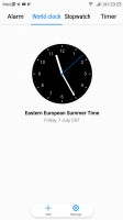 Clock - Honor 9 review