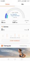 Health app - Huawei Mate 10 Lite review