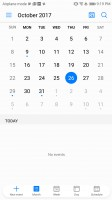 calendar - Huawei Mate 10 review