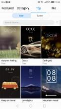 Powerful Theme engine - Huawei P10 Lite review