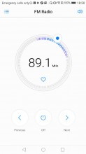 FM radio - Huawei P10 Lite review