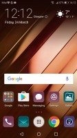 app drawer shortcut - Huawei P10 Plus review