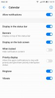 Notification permissions - Huawei P10 Plus review