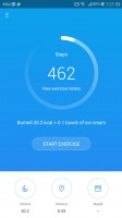 Health app - Huawei P10 review