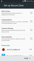 Secore zone for added privacy - Lenovo K6 Note review