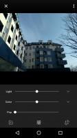 Manual editing options - Lenovo P2 review