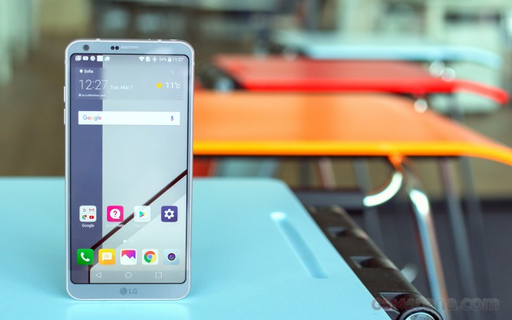 LG G6 review: Cutting corners    Like a pro - GSMArena com tests