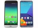 LG G6 next to the LG G5 - LG G6 review