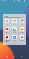 Folder view - LG G6 review