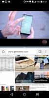 Launching split screen - LG G6 review