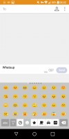 Emoji - LG G6 review